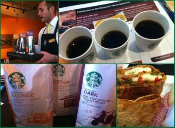 Free Starbucks Coffee Tasting