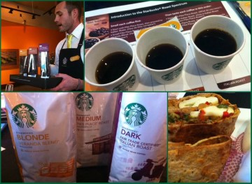 Free Starbucks Coffee Tasting