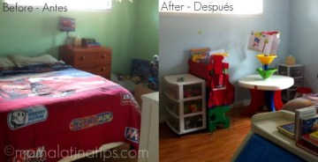 My Kids' Bedroom Makeover and $100 Lowe's GC Giveaway