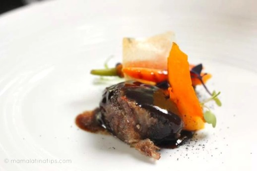 Slow cooked veal