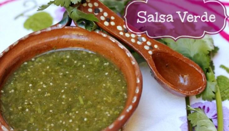 Homemade Authentic Salsa Verde Recipe