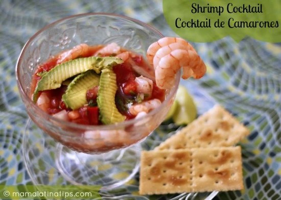 Shrimp Cocktail - Silvia Martinez Mamalatinatips
