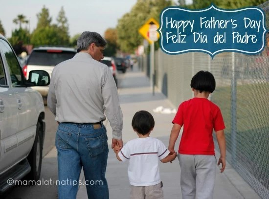dad and kids mamalatinatips