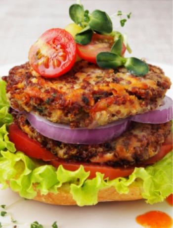 quinoa-veggie-burger