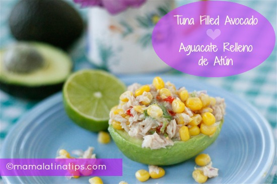 Tuna Filled Avocado