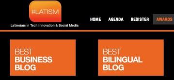 Best Bilingual Blogger Nomination!