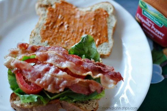 Mexican Chipotle BLT Sandwich