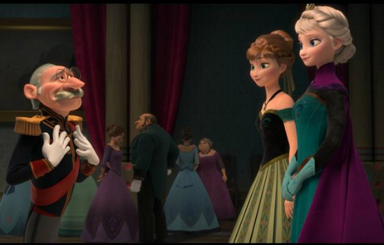 Anna, Elsa and Count