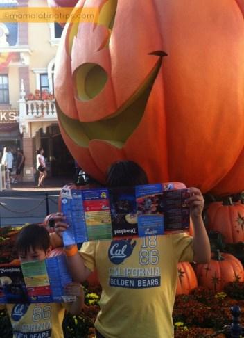 Kids Planning Disney Day