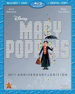 Mary Poppins Blu-ray