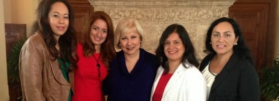 Bloggeras y Cristina Saralegui