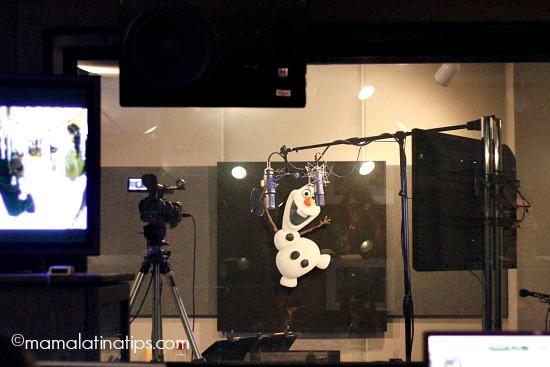Walt Disney Studios Recording Booth