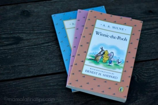 Winnie the Pooh Book - mamalatinatips.com