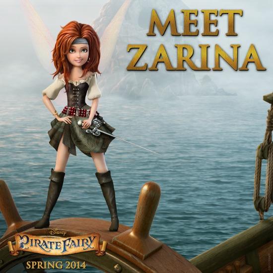 The Pirate Fairy Zarina - mamalatinatips.com