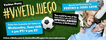 Come to the #ViveTuJuego Twitter Party