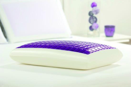 Lux Living Memory Foam Lux Gel Pillow
