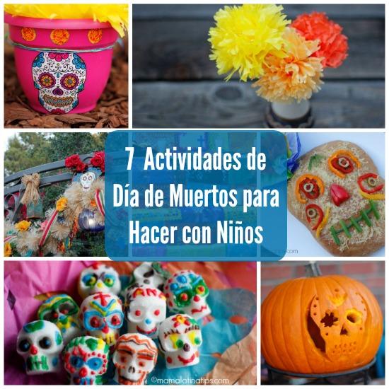 7 actividades de Día de Muertos para Hacer con Niños
