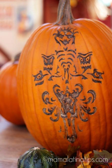 pumpkin at Disneyland