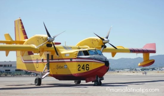 Super scooper plane