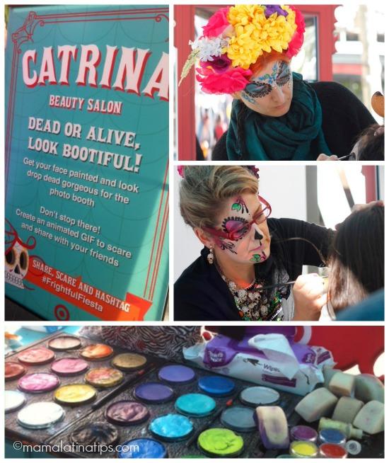 Catrina Salon at #frightfulfiesta