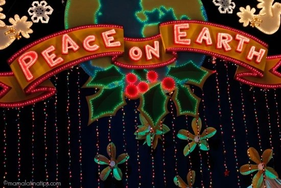 Peace on Earth at it's a small world