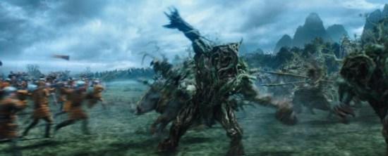 Maleficent scene - Battle