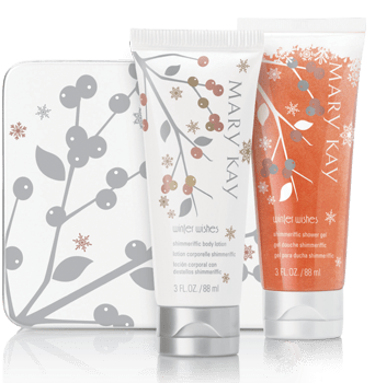 Mary Kay Winter Wishes Shimmerific Gift Set
