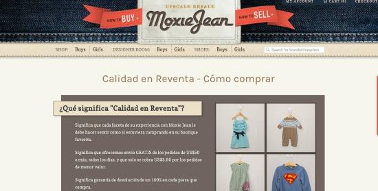 MoxieJean.com español