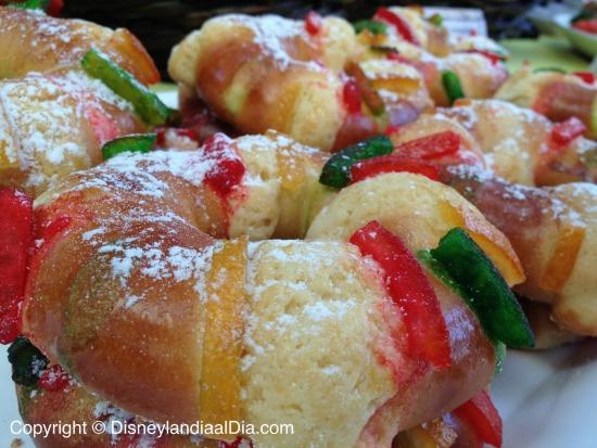 Rosca de Reyes en Disney California Adventure