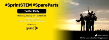 Join Us for the #SprintSTEM #SpareParts Twitter Party with George Lopez