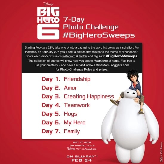 Big Hero 6 Photo Challenge