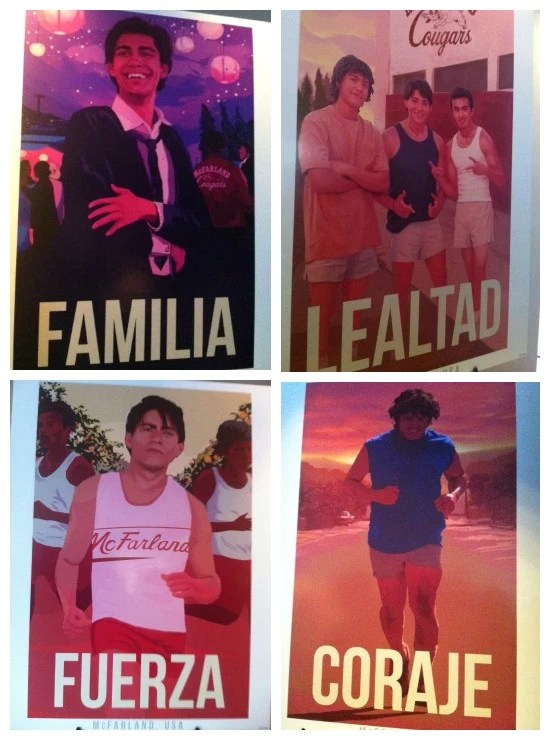 Poster collage McFarland USA