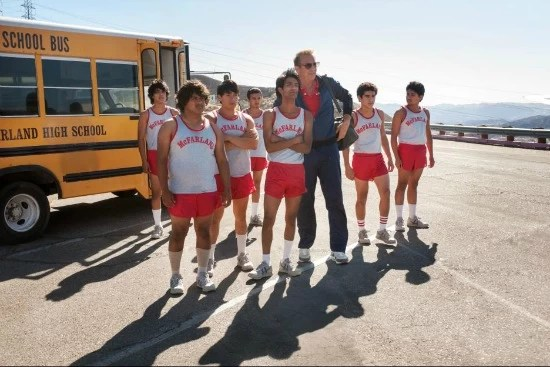 McFarland USA scene with Kevin Costner