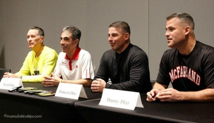 Hermanos Díaz y entrenador Jim White - the real inspiration behind McFarland USA