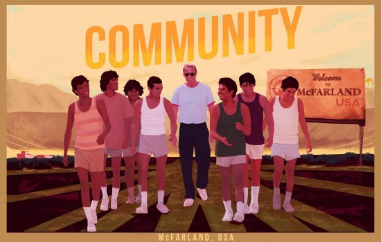 Poster de la película de Disney McFarland USA