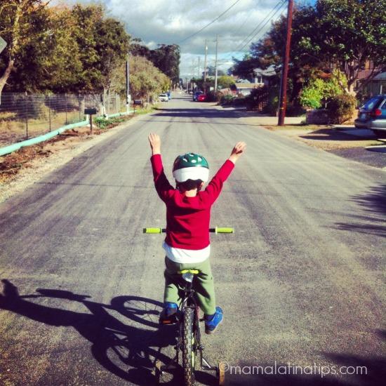 kids riding a bicycle by mamalatinatips.com