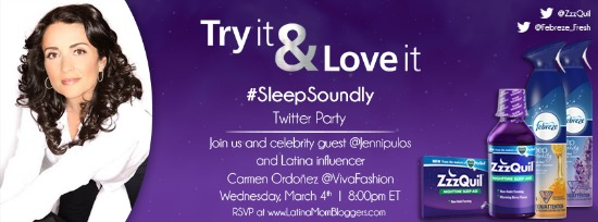 #SleepSoundly twitter party