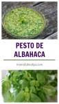 Pesto de albahaca