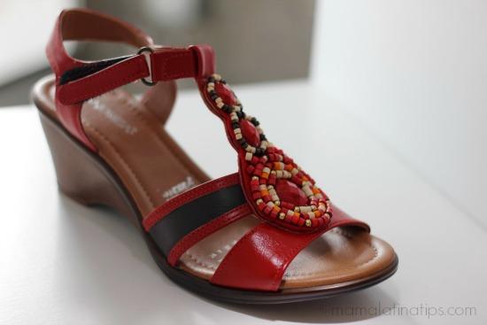 zapatos Andrea rojos