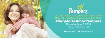 """Join Us for the #RegalodeAmorPampers """"Mother's Day"""" Twitter Party"""