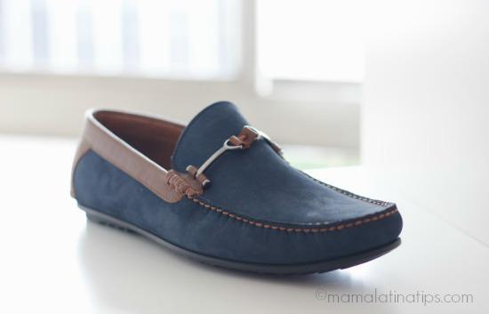 Zapato andrea para caballero en azul