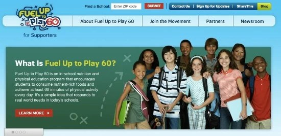 Fuel Up to Play Website