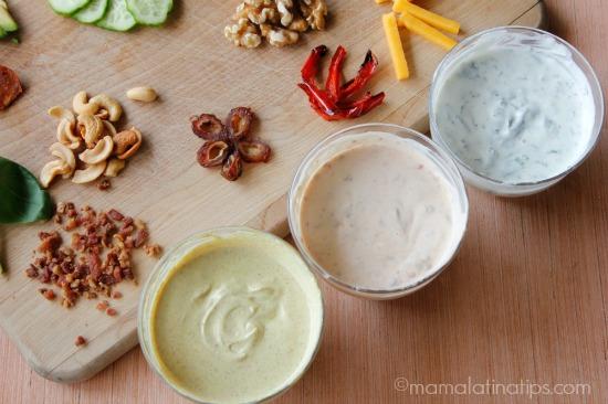 Spiced yogurt flavors by mamalatinatips.com