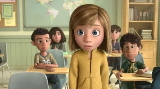 Riley at school - Inside Out - mamalatinatips.com