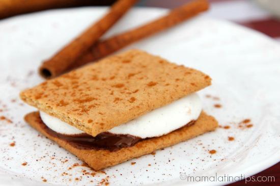 cinnamon-chipotle s'more - mamalatinatips.com