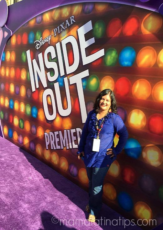 Celebrities at Disney-Pixar Inside Out Purple Carpet World Premiere