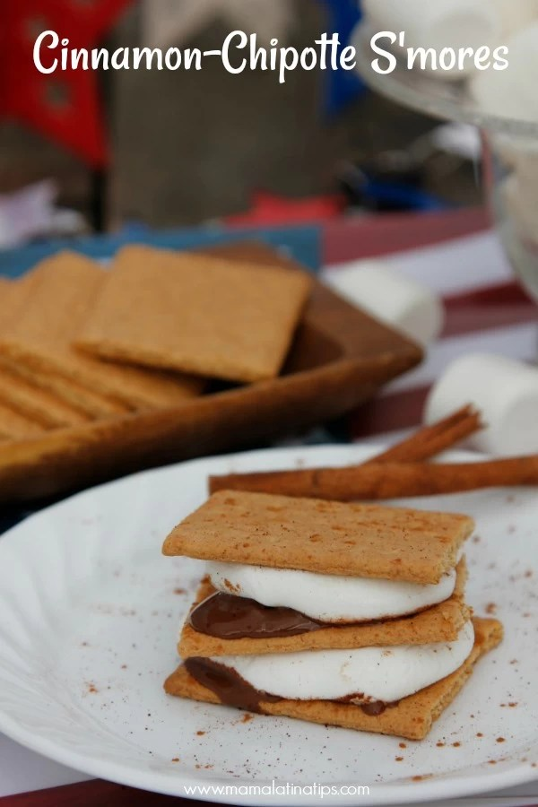 cinnamon chipotle smores