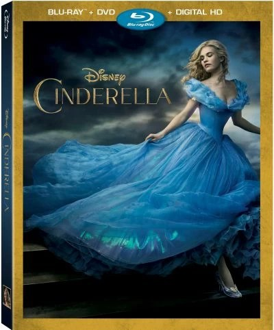 Cinderella Blu-ray/DVD Combo Pack