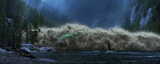 Arlo in the river - mamalatinatips.com