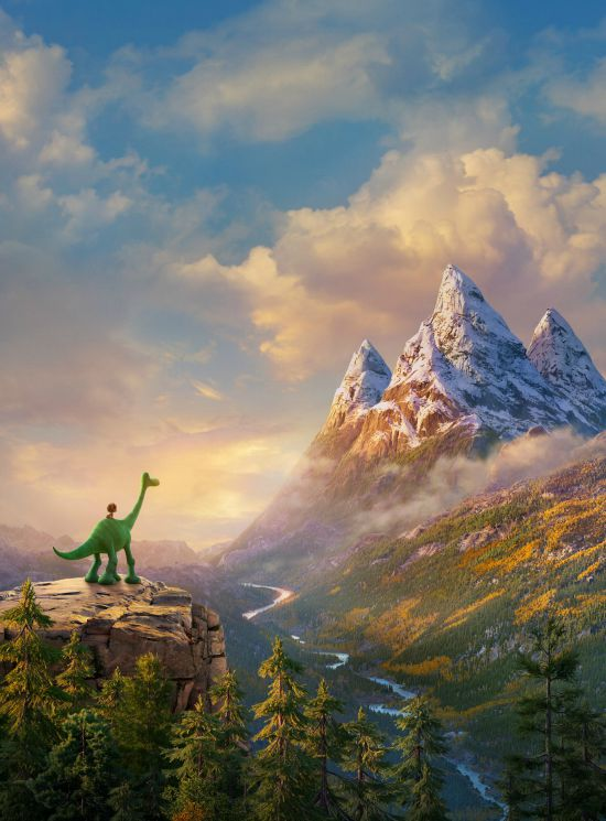The Good Dinosaur Scene - Disney/Pixar - mamalatinatips.com